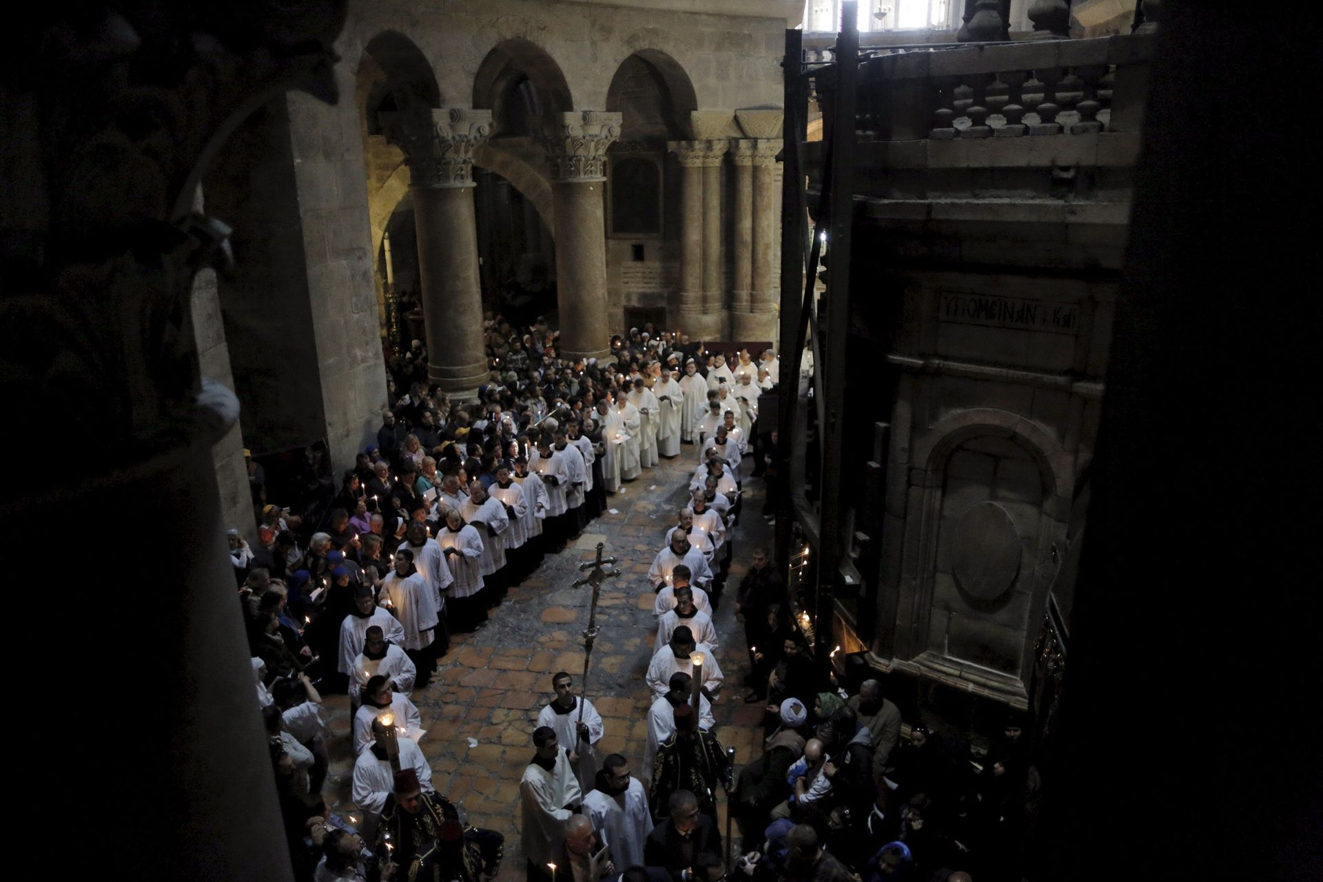 in pictures christians celebrate good friday and easter in the